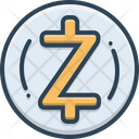 Zcash Coin Crypto Currency Icon