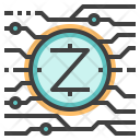 Zcash Cryptocurrency Icon