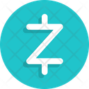 Currency Zcash Cryptocurrency Icon