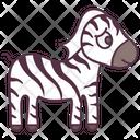 Animal Zebra Wild Animal Icon