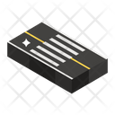 Road Sign Zebra Crossing Pedestrian Walkway Icon