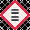 Zebra Crossing Icon