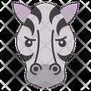 Zebra Emoji Emoticon Animal Icon