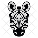 Zebra Mascot Zebra Face Zebra Icon