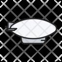 Airship Dirigible Zeppelin Icon