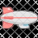Zeppelin Air Airship Icon