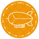 Zeppelin Airship Transport Icon