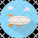 Zeppelin Cloud Sky Icon