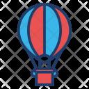 Zeppelin Airplane Transportation Icon