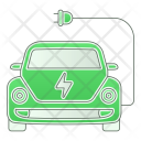 Zero Emission Car Icon