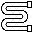 Zig Zag Pipe Icon