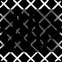 Zigzag Curve Arrow Icon