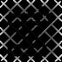 Arrow Ui Zigzag Icon