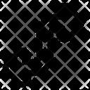 Zigzag Arrow Arrows Icon