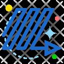 Zigzag Right Ups Icon