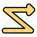 Zigzag Icon