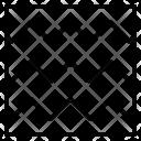 Zigzag Stitch Pattern Icon