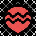 Zigzag Bauble Icon