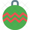 Zigzag Bauble Ball Icon