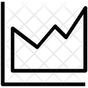 Zigzag Chart Business Icon