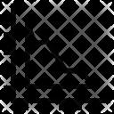 Zigzag Stock Market Icon
