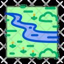 Zigzag River Icon