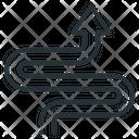 Zigzag Road Icon