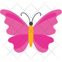 Zigzag Wings Insect Icon