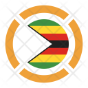 Zimbabwe Flag Icon