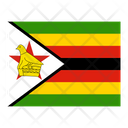 Zimbabwe Flag Flags Icon
