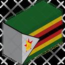 Flag Country Zimbabwe Icon