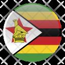 Zimbabwe Country Flag Icon