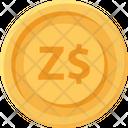Zimbabwe Dollar Coin Zimbabwe Dollar Business Icon