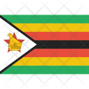 Zimbabwe Rhodesia Icon