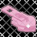 Zip Hook Zipper Icon