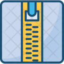 Zip Compress Chain Icon