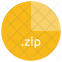 Zip File Format Icon