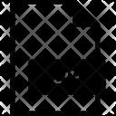 Zip Format Document Icon