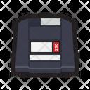 Zip Disk Zip Drive External Icon