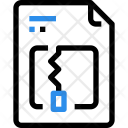 Zip Document Paper Icon