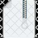Zip Folder Archive Zip Archive File Icon