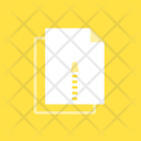 Zip File Ghostly Icon