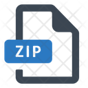 Archive File Zip Icon