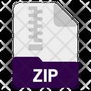 Zip File Icon