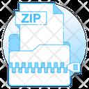 Zip File Zip Folder Archive Icon