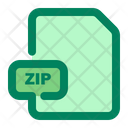 File Zip Format Icon
