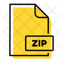 File Zip Storage Icon