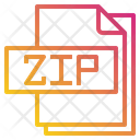 Zip File File Type Icon