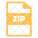 Zip File Zip File Icon