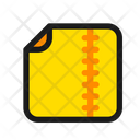 Zip Compressed Package Icon